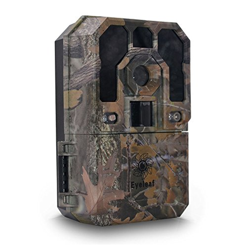 Outdoor Tracker Trail Camera - Eyeleaf HD 1080P 12MP Infrared Digital Hunting Camera Trail Wildlife...