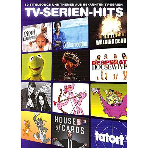 TV-serie Hits - 50 titelnummers en thema's uit bekende TV-series - Songboek gearrangeerd voor piano, zang en gitaar [noten/Sheetmusic] - Uitgevers nr.: BOE7801 - ISBN: 9783865439086