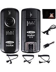 GODOX FC-16 - Disparador de flash inalámbrico para cámaras Nikon (2,4 G, 16 canales)