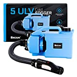 Brüun Disinfectant Cold Fogger ULV Atomizer Disinfection Machine 5L 110V/1000W Electric Fogger Sprayer Office Home 1.32 Gallon Cord/Wire Operated fogger with 3 prong plug long Nozzle and wide coverage