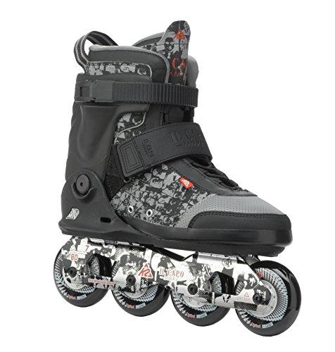 K2 Skates Herren IL Capo Inline Skates, Schwarz/Grau, 45 EU