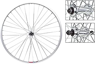 Wheel Master Front And Rear Bicycle Wheel Set 26 x 1.5 36H, AlloyFW , Quick Release, Silver