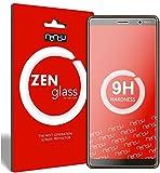 ZenGlass [2 Stück Flexible Glas-Folie kompatibel mit Nokia 7 Plus Panzerfolie I Bildschirm-Schutzfolie 9H I (Kleiner Als Das Gewölbte Bildschirm)