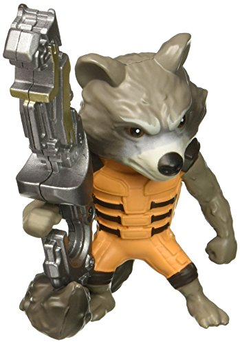 Marvel Guardians of the Galaxy Rocket Racoon - Metalfigs 10cm Sammelfigur 97966 detailgetreue Gestaltung, aus hochwertigem Diecast-Metall, verpackt in edler Fensterbox