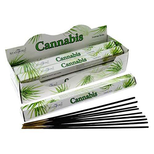 Imagen del productoUnknow Stamford Aroma Cannabis - Varillas de incienso (120 unidades)