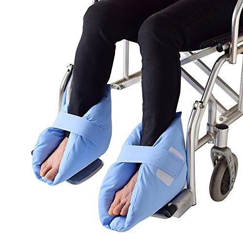 GHzzY Fersenschutz für Druckstellen und Linderung von Fersen Geschwüren - 1 Paar Fußkissen für Mann und Frau - Fuß- und Knöchelschutzkissen