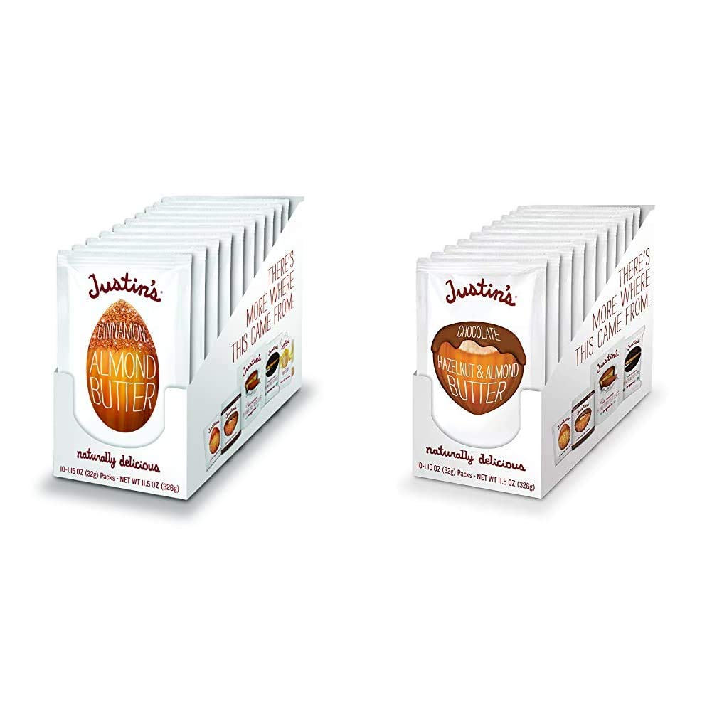 Justin's Super popular specialty store Cinnamon Almond Wholesale Butter Gluten-free Non- Squeeze Packs