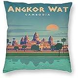 DayToy Stil Angkor Wat Kambodscha World Travel Art Poster 1