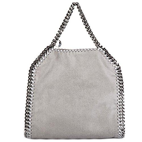 Stella McCartney damen falabella mini Handtaschen grigio