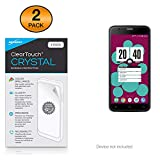 RCA Q1 Screen Protector, BoxWave [ClearTouch Crystal (2-Pack)] HD Film Skin - Shields from Scratches for RCA Q1, M1