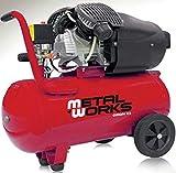 Compresor de aire 3cv. 2 cilindros/2etapas 50 litros