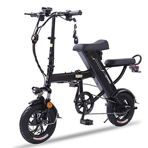 Fxwj Bicicleta Electrica Plegables para Adulto Hombre Y Mujer con Ruedas De...