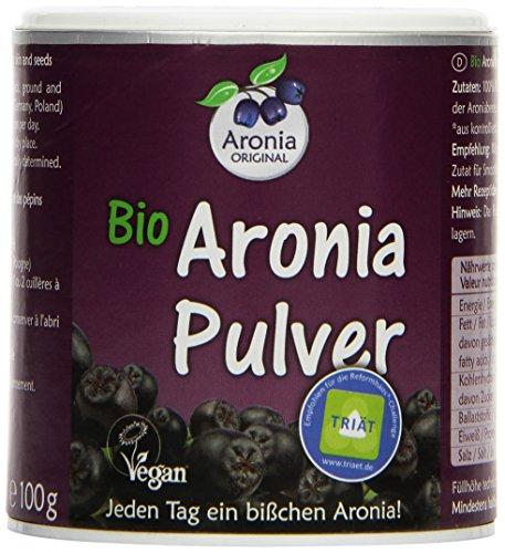 Aronia ORIGINAL Bio Aronia Pulver, 2er Pack (2 x 0.1 kg)