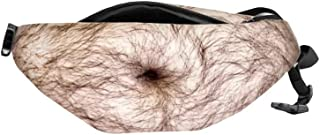 Dad Bag Waist Zipper Packs Dadbod Mens Unisex Yiushing Fake Belly Traveling Fanny Bags with Adjustable Belt (2)