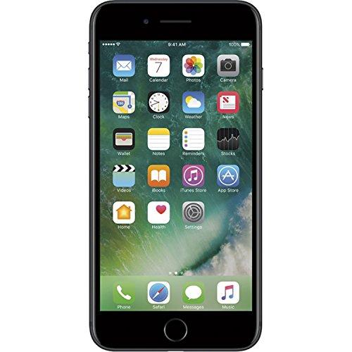 Apple iPhone 7 Plus, 128GB, Black - For GSM (Renewed)