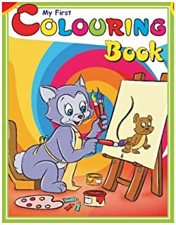 My First Colouring Book- Green