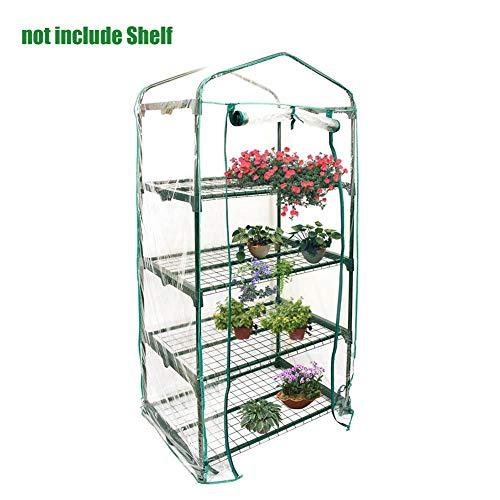 /Mini Serre de Jardin PVC Plante Serre Serre Accessoires de Remplacement de Serre et Jardin de Fleurs Juste Couvrir, sans Support de Fer, Pot de Fleurs