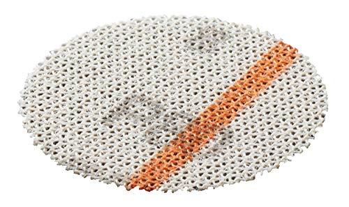 Bosch 12 Stück Schleifmittel (für Holz und Farbe, Ø 40 mm, Körnung K80, Zubehör Exzenterschleifer)