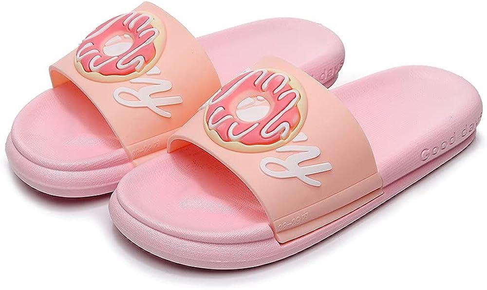 FAYUEKEY Girls Boys Max 65% OFF Slide Sandals Beach Pool Kids Cute Discount is also underway Bathroom