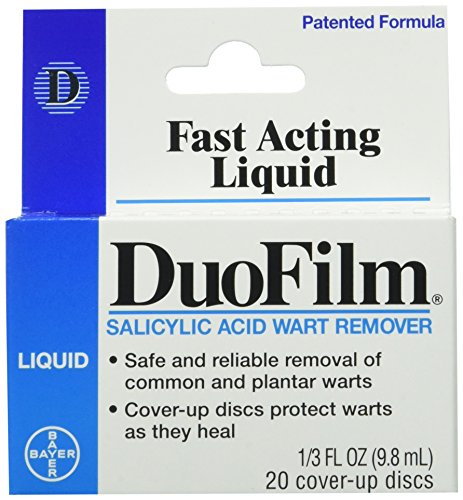 Duofilm Liquid Salicylic Acid Wart Remover - 1/3 Oz (Pack of 2)