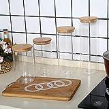 Zoom IMG-2 4 barattoli di vetro con
