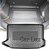 Car Lux ar05237–Couvre Tapis bac coffre coffre à mesure avec antidérapant...