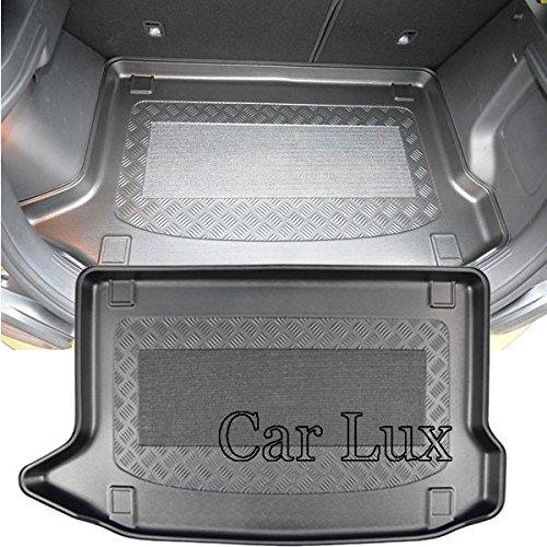 Car Lux AR05237 - Alfombra Bandeja Cubeta Protector cubre maletero a medida con antideslizante para Kona