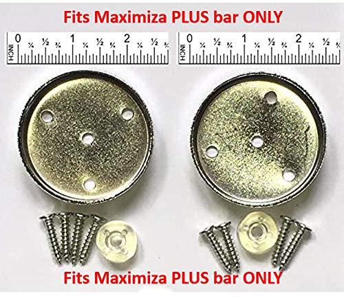 Garren Fitness Replacement Doormounts - Plus Pull-up bar - 2.5 inch/6.4cm Diameter doormounts - 1 Full Set