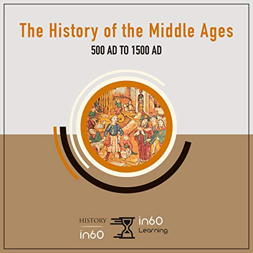 The History of the Middle Ages: 500 AD to 1500 AD audiobook cover art