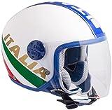 CGM Casco Tricolore Visor 206I per Bambino XL Tricolore