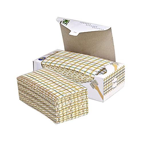 CLLoom 3 Pcs Boxed Reinigung Tücher, Küche Reinigung Tuch, Einweg Handtücher, Umwelt Fre&liche Material, Reinigung Tücher Auf EINE Rolle Für Küche, Etagen (30 * 42CM)