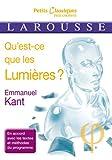 Qu'est-ce que les Lumières ? - Larousse - 06/11/2013
