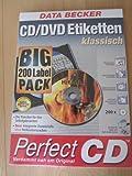 CD/DVD Etiketten, klassisch, BigPack (200 Labels)
