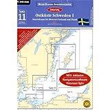 Seekarte Schweden - Sportbootkarten 12: Ostküste Schweden 01 (2011) - Yachtcharter Schweden & Mitsegeln