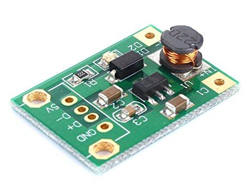 Demarkt DC-DC Step Up Power Module 1V-5V auf 5V ohne USB Kopf
