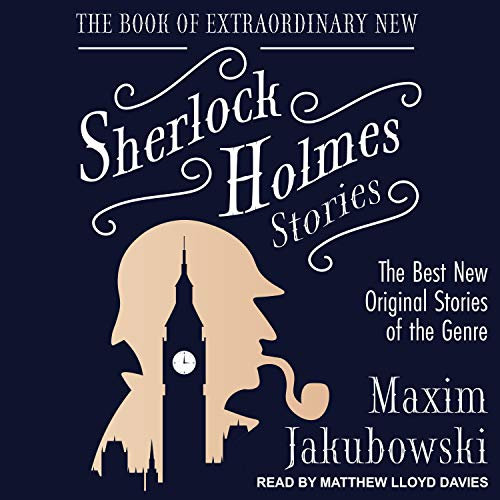 The Book of Extraordinary New Sherlock Holmes Stories  By  cover art