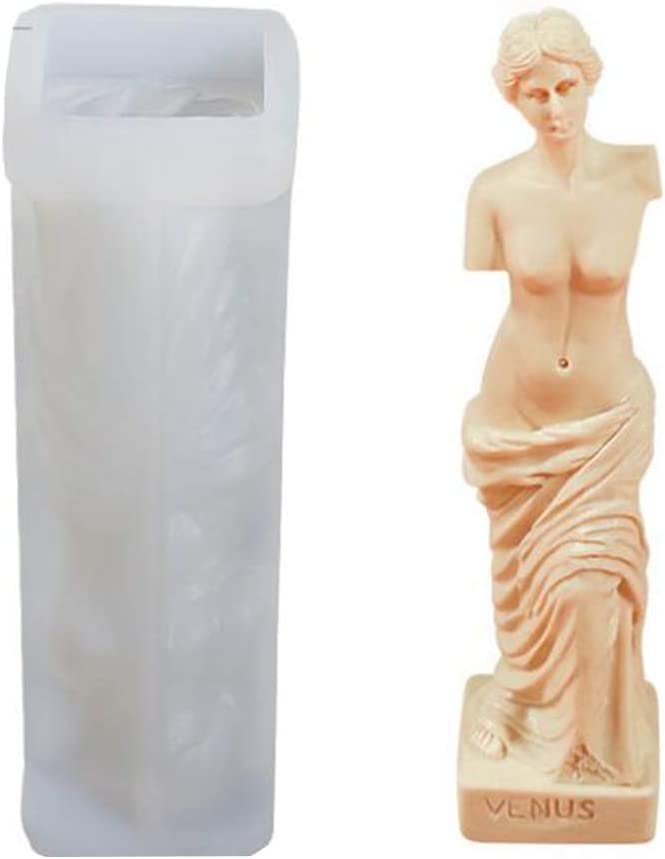 Factory outlet Venus Goddes Cheap bargain Candle Resin Mold Human Art Body Fragrance