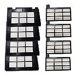 piao piao - Piezas de repuesto para aspiradora Cecotec Conga 4090 Cecotec Conga 5090 Robot Aspirador Accesorios Kits de filtros HEPA (color: 03)