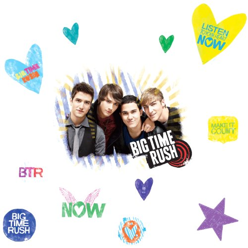 big time rush decals - 1