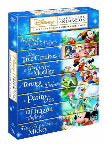 Pack Fábulas Disney 1-7 [DVD]