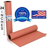 Pink Kraft Butcher Paper Roll - Long 24 Inch x 175 Feet (2100 Inch) - Food Grade FDA Approved –...