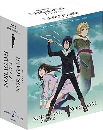 Noragami + Noragami Aragoto. Serie Completa Bluray Coleccionistas [Blu-ray]