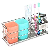 K-Steel 7 Slot Toothbrush Holder Large Capacity Toothbrush Organizer...