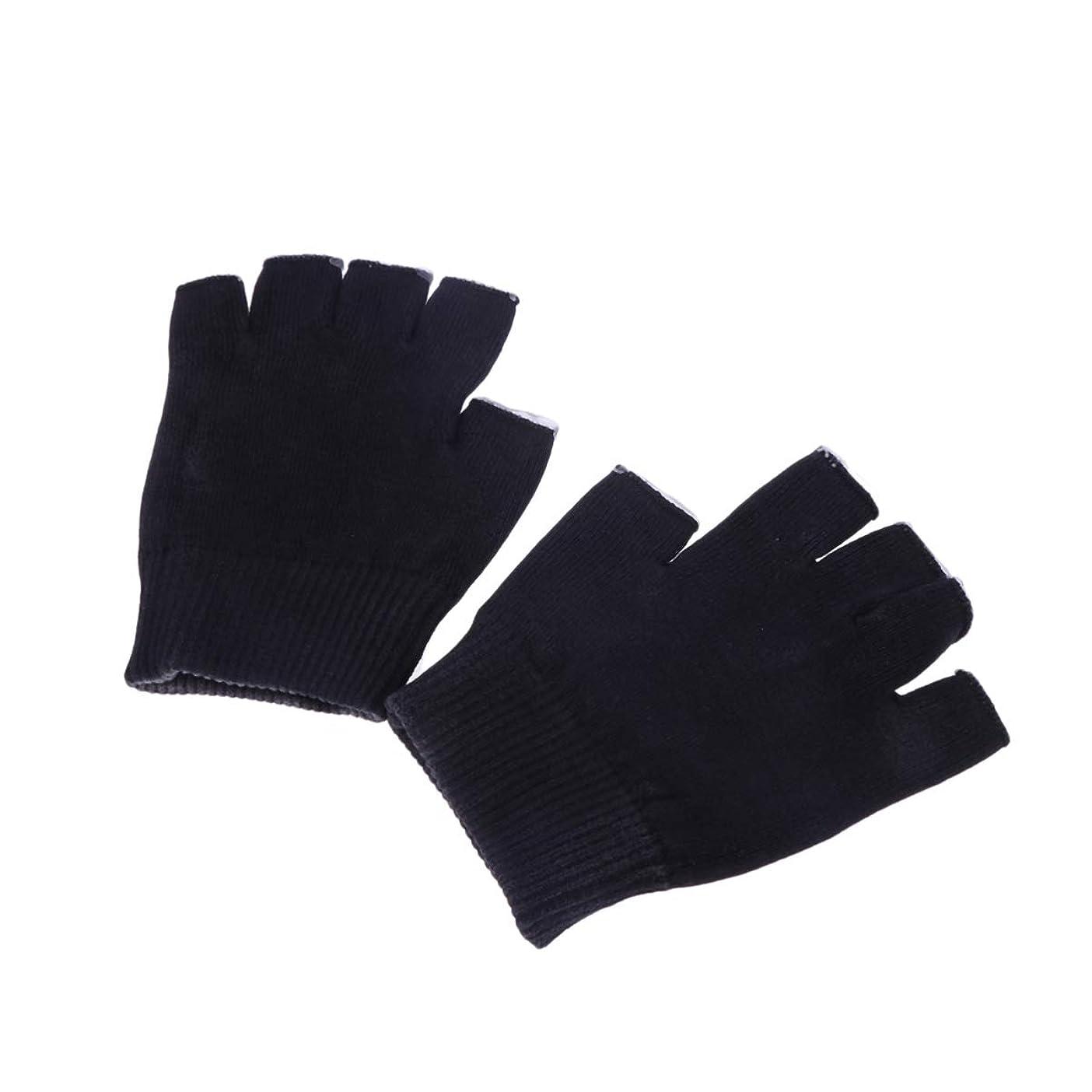 その結果アイスクリーム別のSUPVOX ハンドケア 手袋 指なし ゲル 保湿 美容成分配合 手荒れ 対策 おやすみ スキンケア グローブ うるおい 保護