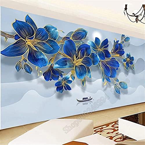 Diamond Painting 5D DIY Flower Cuadrado Taladro Completo Pintura por Numeros Diamantes Bordado Punto de Cruz Kits Arte Lienzo Mosaicos Manualidades 30x90cm
