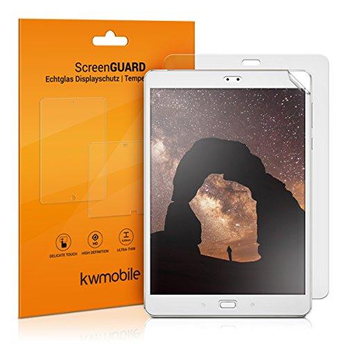kwmobile 2X Schutzfolie kompatibel mit Asus ZenPad 3S 10 (Z500M) - Folie entspiegelt Full Screen Tablet