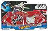 Hot Wheels Star Wars Rebels Ghost vs. Tie Fighter Starships (Pack of 2)
