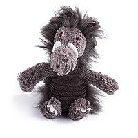 犬用 噛むおもちゃ ペット ぬいぐるみ おもちゃ 音出る 犬用おもちゃ 歯ぎ清潔 丈夫 発声装置搭載 犬玩具 ストレス解消 運動不足 (Color : ブラック)