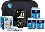 Contour Next Diabetes Testing Kit, 30 Count | Glucometer, 30 Test Strips, 30 Lancets, Lancing Device, Manuals, Log Book & Carry Case