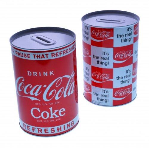 Coca-Cola Retro Spardose aus Metall